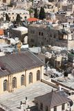 Roof of the Old City of Jerusalem Royalty Free Stock Photo