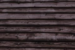 Roof of old house. Made of boards Stock Photography