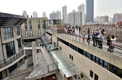 Roof  of Old millfun 1933 in shanghai Stock Image