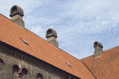 Roof of an old monastery Royalty Free Stock Photography