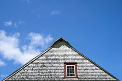 Roof of an old rustic house Royalty Free Stock Photos
