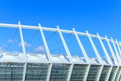 The roof of the Olympic Stadium in Kiev Stock Photography