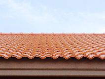 Roof of Orange Stock Images