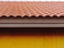 Roof of Orange Stock Image