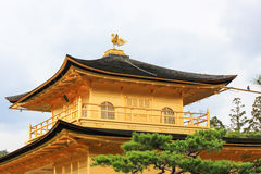 Roof ornament at Kinkakuji Temple(Golden Pavilion). Zen Buddhist temple in northern Kyoto,Japan Stock Photo
