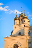 Roof of the orthodoxy church in Yekaterinburg Stock Photo