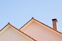 Free Roof Over Blue Sky Background Stock Photography - 9757992