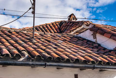 Roof overhead Royalty Free Stock Images