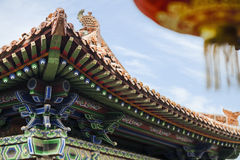 Roof of the pagoda, Chinese architecture, Shanxi Province, China Stock Images