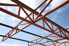 Roof parking Under Construction Royalty Free Stock Images
