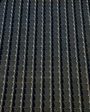 Roof pattern. Black roof pattern deceiving the eye Stock Photos