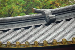 Roof Pattern Japan Royalty Free Stock Image