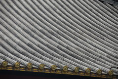 Roof pattern Japan Royalty Free Stock Photos