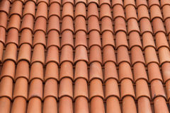 Roof Pattern Royalty Free Stock Photo