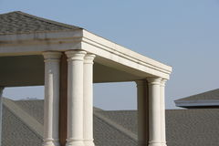 The roof and the Pavilion Stock Photography