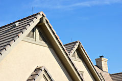 Roof Peaks Royalty Free Stock Photos