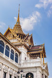 Roof of Phra Thinang Dusit Royalty Free Stock Image