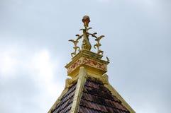 Roof pinnacle of Masjid Kariah Dato' Undang Kamat, Johol, Negeri Sembilan Stock Image