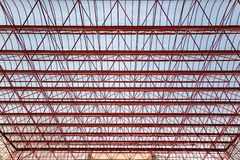 Roof from plastic and metal Royalty Free Stock Photos