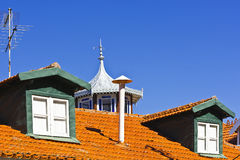 Roof in Portugal Stock Photos