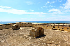 The roof of the prison. the Galle Fort Stock Image