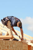 Roof Rafter Royalty Free Stock Photography