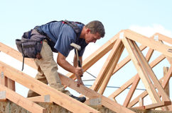 Roof Rafter Stock Photos