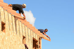 Roof Rafter Stock Photography
