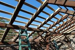 Roof refurbishing Royalty Free Stock Image