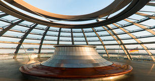 Roof of the Reichstag Royalty Free Stock Photo