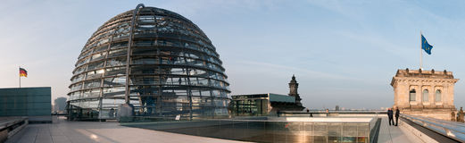 Roof of the Reichstag Royalty Free Stock Images