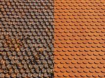 Roof Renovation royalty free stock photo