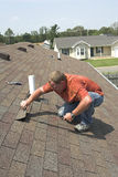 Roof repair Royalty Free Stock Photo