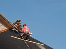 Roof Repairs Royalty Free Stock Photos