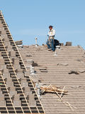 Roof Repairs Royalty Free Stock Photo