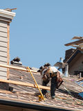 Roof Repairs Royalty Free Stock Photos