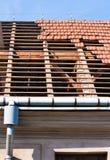 Roof restoration Stock Photos