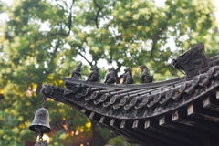 Free Roof Ridge Beasts Of A Censer Stock Image - 57438041
