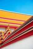 Roof of the royal palace in Bangkok Royalty Free Stock Image