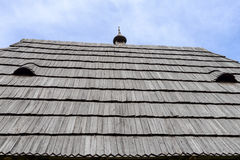 Roof of the rural house Stock Photography