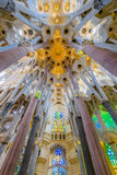 The roof of the Sagrada Familia Stock Images