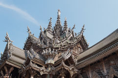 Roof Sanctuary of Truth Stock Photos