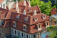 Roof scape Royalty Free Stock Photo