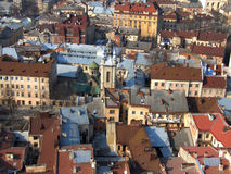 Roof scape Royalty Free Stock Image
