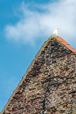 Roof and seagull Royalty Free Stock Images