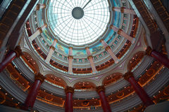 Roof of shanghai global harbor shopping mall Royalty Free Stock Photography