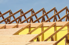 Roof Sheet Royalty Free Stock Photography