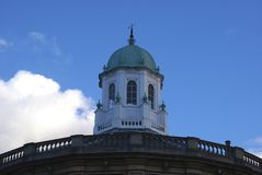 The roof of Sheldonian Theatre in Oxford, England Stock Photo