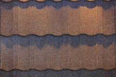 Roof shingle detail Stock Photo