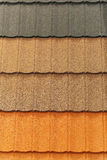 Roof shingle Stock Image
